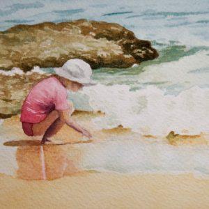 Watercolour - Ruby