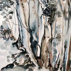 Vicki Ratcliff Artist Pittwater Artists Trail Ingrid Bowen Image